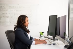 Perfect posture at work - advice from The Carl Todd Clinic